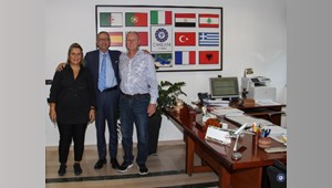 Today, Dr. Kim Ritman, the Australian Chief Plant Protection Officer (ACPPO), is visiting CIHEAM Bari  for future collaboration in Plant Health