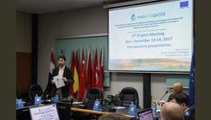 The Fourth Meeting of MADFORWATER project is taking place at CIHEAM Bari today and tomorrow