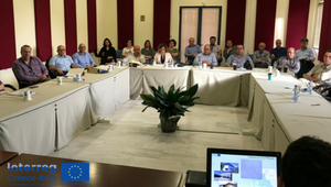 Kick-off meeting of IR2MA Timer - Water & Soil Management Interreg V-A Greece-Italy project