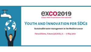 "Conference ""Youth and Innovation for SDGs: sustainable water management in the Mediterranean"" 