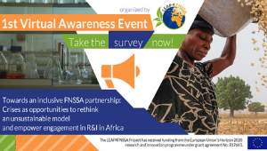 LEAP4FNSSA Project | 1st Virtual Raising Awareness Event | Survey