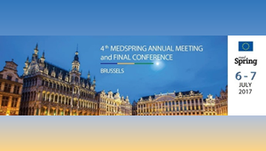 """4th Annual Meeting of the MEDSPRING General Assembly and Final Conference: """"The MedSpring legacy for Euro-Mediterranean Cooperation on R&I"""""""