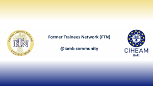 New release: Newsletter of the Alumni Network of CIHEAM Bari (FTN), Special Spring Issue n. 2, 2017