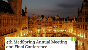 4th MedSpring Annual Meeting and Final Conference - Brussels (BE), 6th-7th July 2017