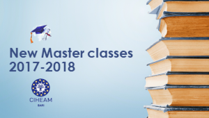 New Master classes 2017-2018