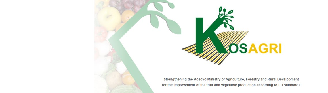 Strengthening the Kosovo Ministry of Agriculture, Forestry and Rural Development for the improvement of the vegetable production according to EU standards